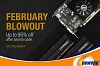 February Blowout Sale at Newegg.com